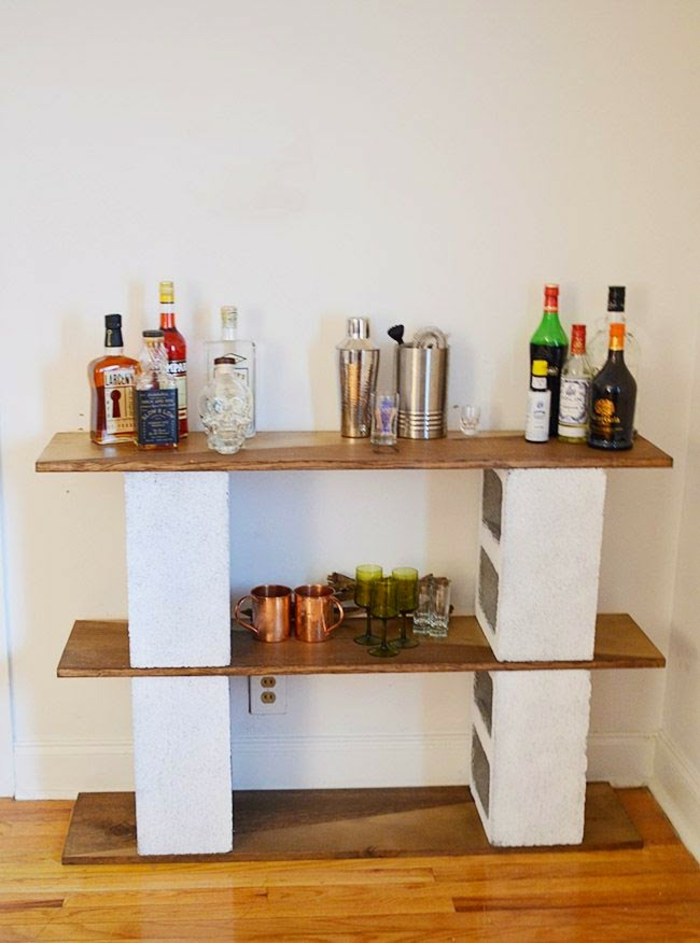 meuble en parpaing gallery of parpaing creux comment en faire des meubles intrieur bureau. Black Bedroom Furniture Sets. Home Design Ideas