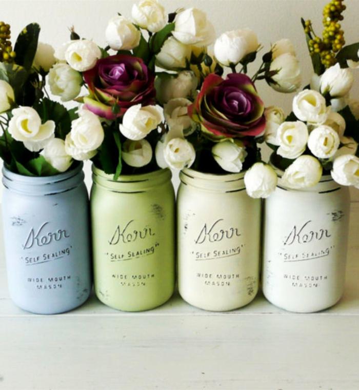diy bocaux vases