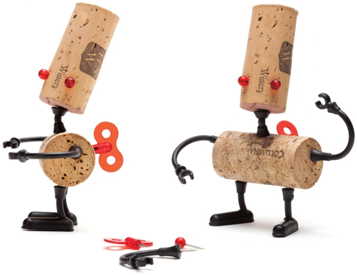 diy objets design bouchons de liège