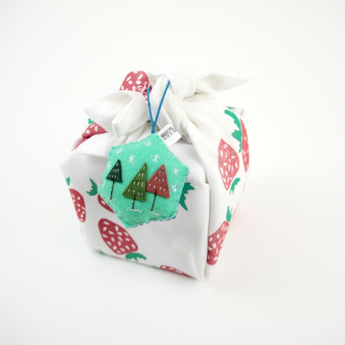 emballage cadeau furoshiki