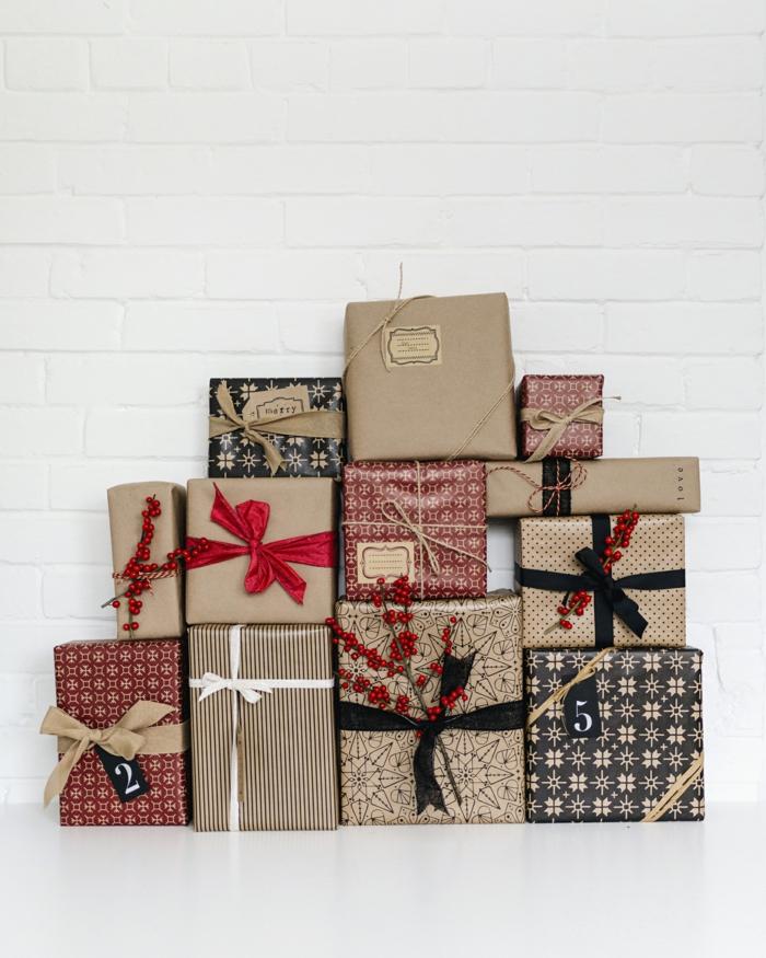 emballer un cadeau- inspirations