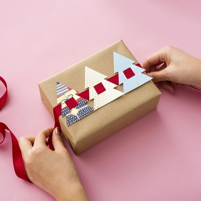 emballer un cadeau inspiration