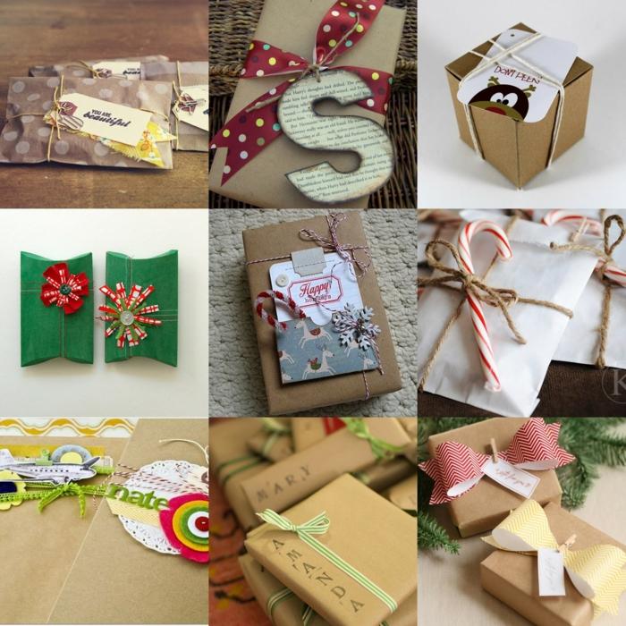 emballer un cadeau variantes
