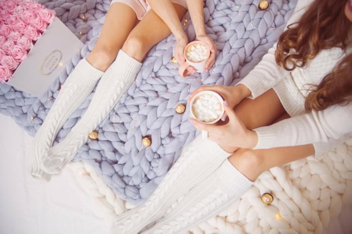 idée cadeau pour noël arm knitting