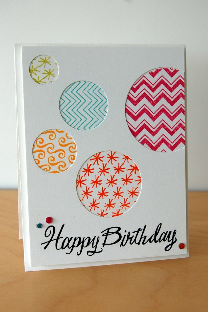 idée carte d' anniversaire