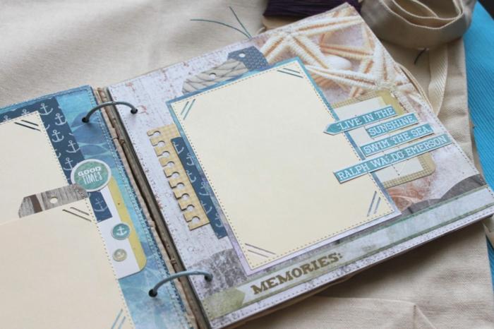 idée comment décorer votre carnet de voyage