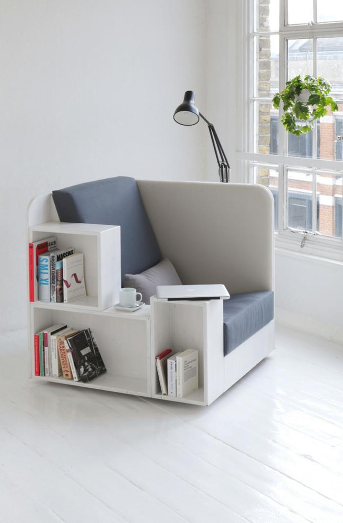 idée créative pour ranger vos livres meuble bibliothèque