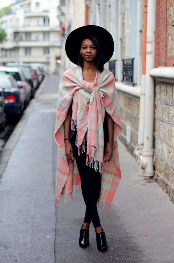 3dcbb8383994 Echarpe xxl femme noire - balbuzard-migration.fr