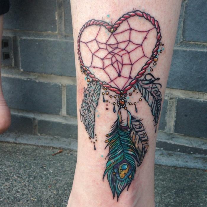 inspiration tatouage attrape-rêve