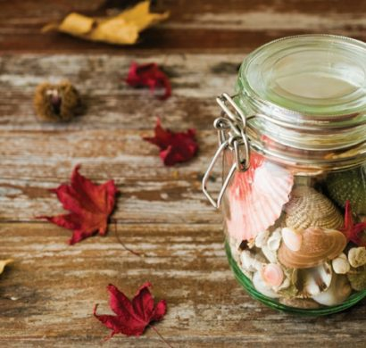 bocaux en verre décoration