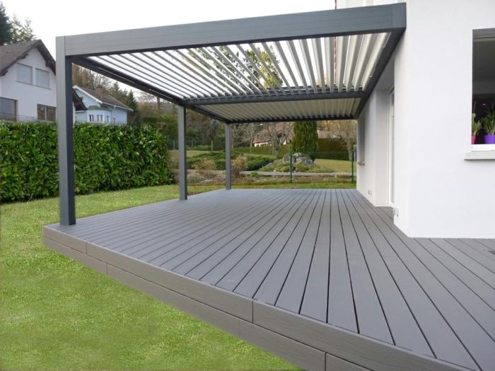 maison terrasse en composite
