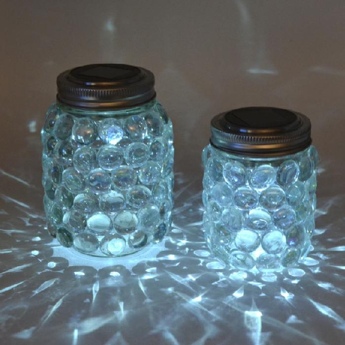 mason jar luminaires bocaux
