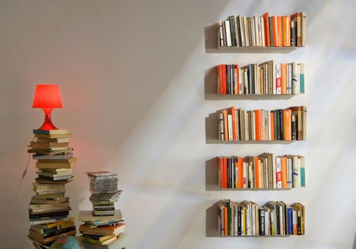 meuble bibliothèque étagères