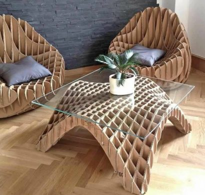 chaise carton perfect with chaise carton chaise carton best meuble en carton images on. Black Bedroom Furniture Sets. Home Design Ideas