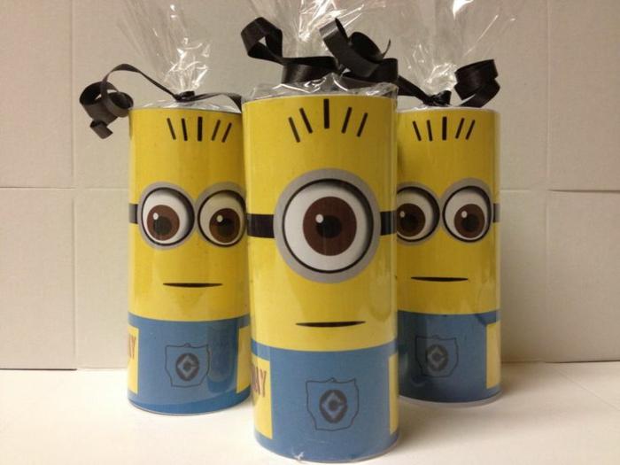 minions tubes papier toilette
