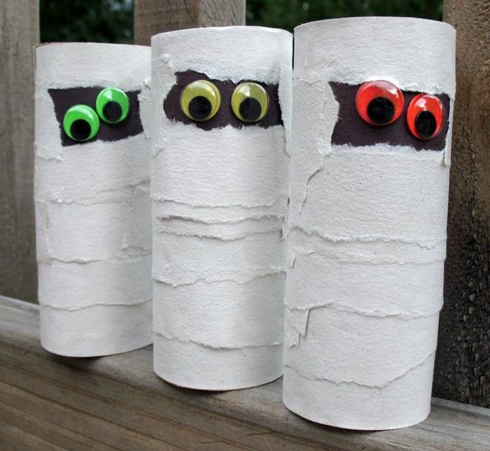 momies tubes papier toilette