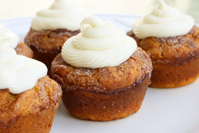 muffins recette citrouille