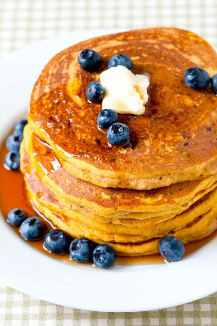 pancakes recette citrouille