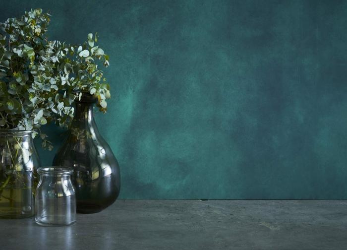 peinture à la chaux couleur verte