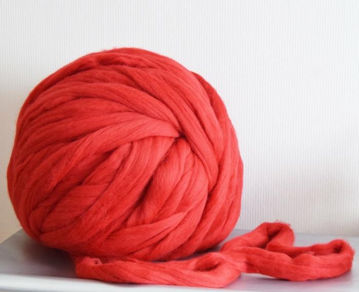 pelote de laine arm knitting