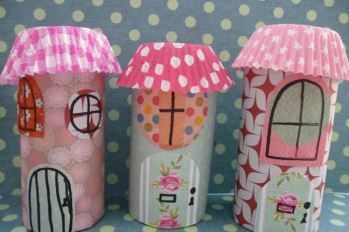 petites maisons de fée tubels papier toilette