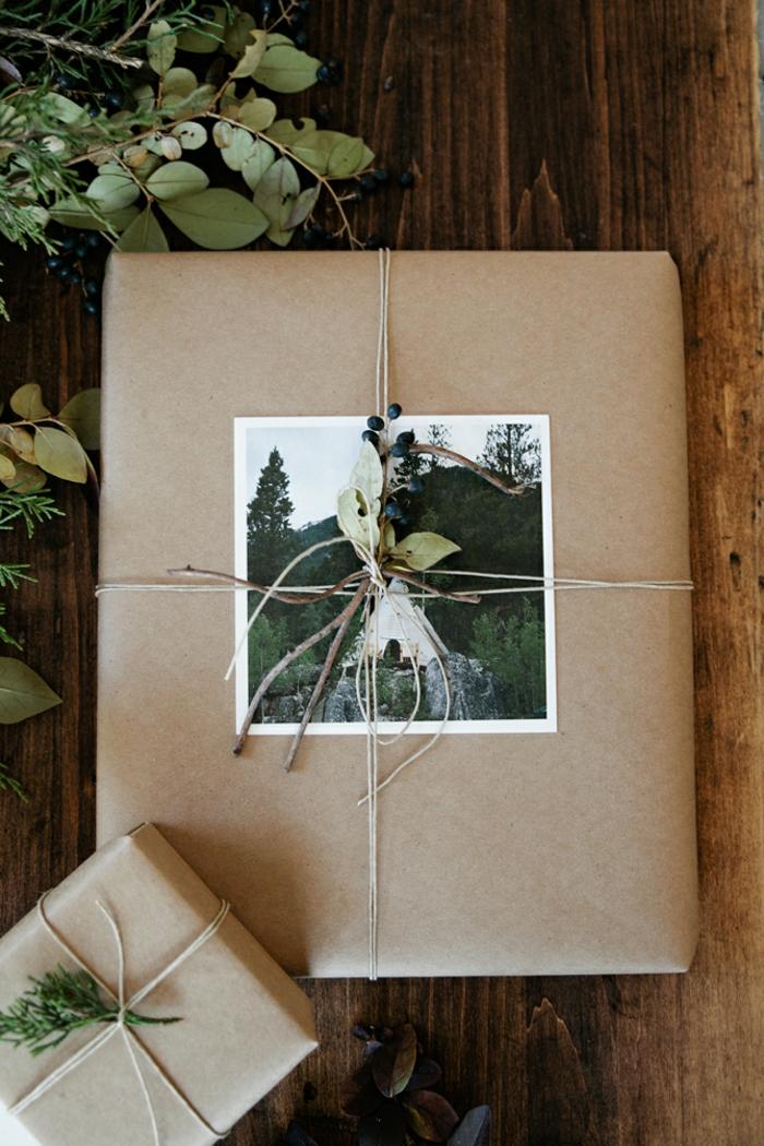 photos emballer un cadeau