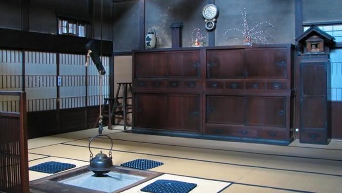 pièce maison traditionnelle japonaise