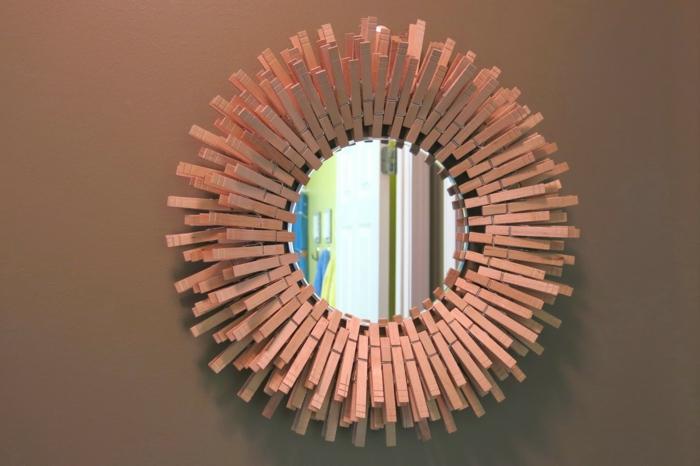 pince à linge - pour une déco miroir