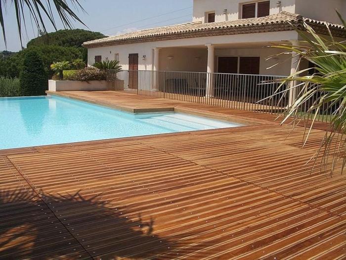 piscine bois terrasse composite