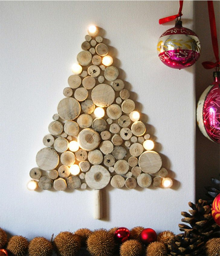 projet diy bois arbre noël
