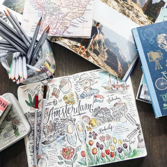 proposition comment créer votre carnet de voyage