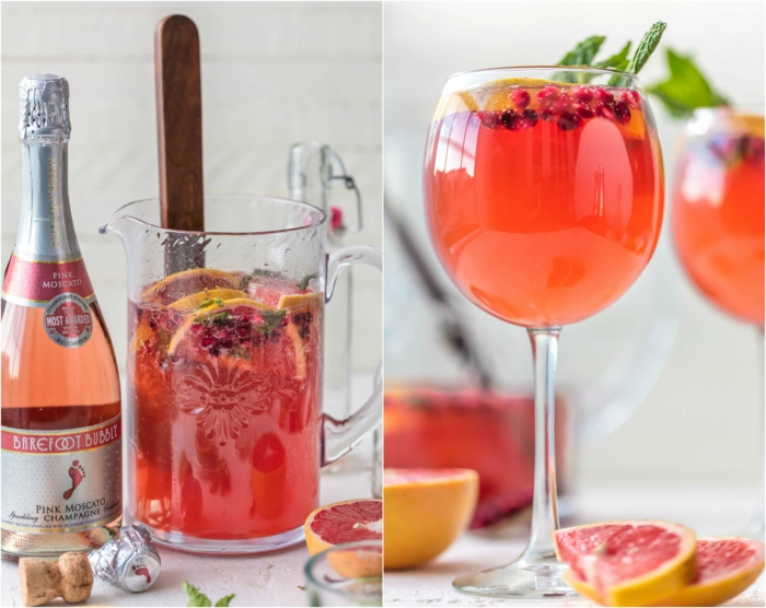 sangria champagne