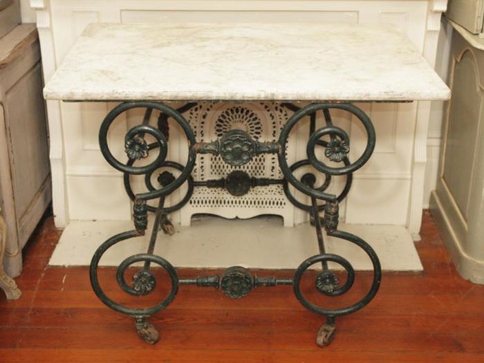 table de machine à coudre cuisine victorienne