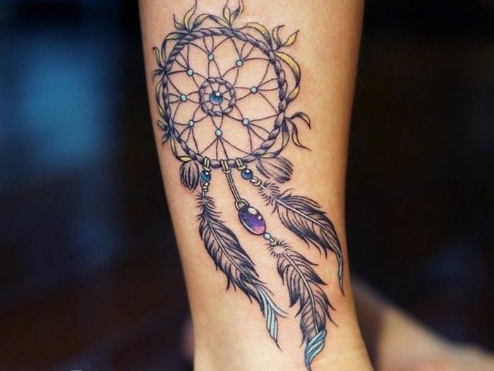 tatouage attrape-rêve signification