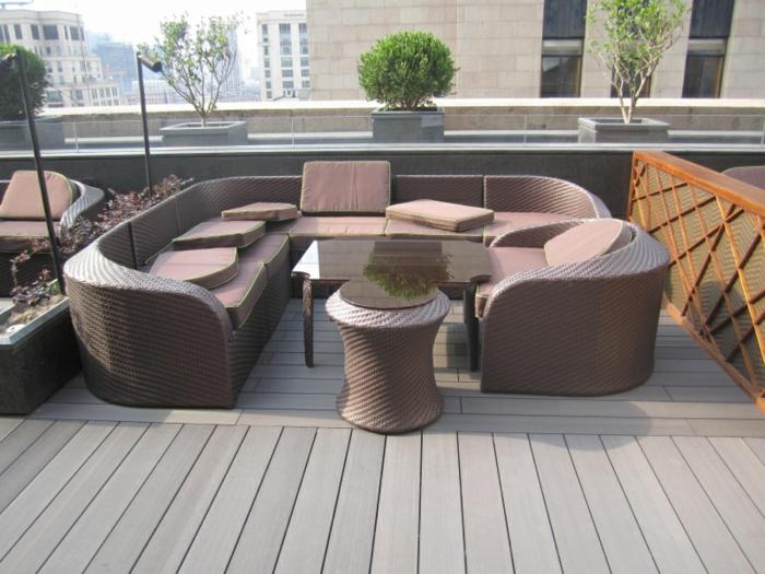 terrasse composite meubles extérieurs