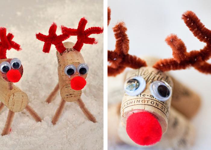 activité manuelle facile pour enfants bouchons de liège petites figurines