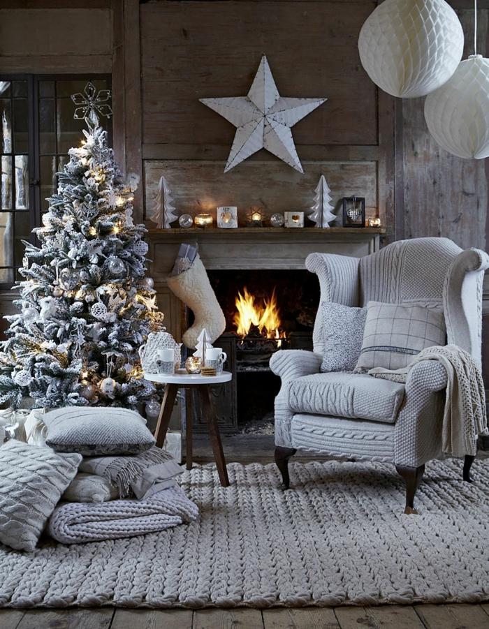 ambiance cocooning décoration de Noël