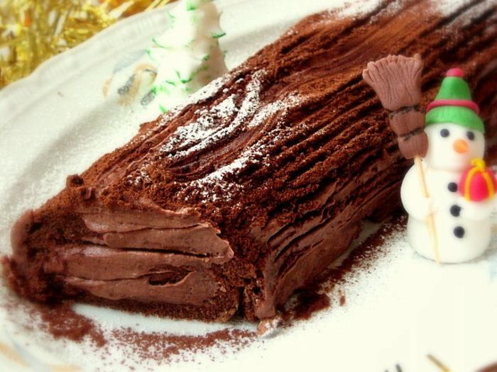 bûche de noël idée gâteau de noël