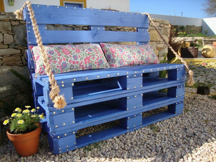 fabriquer une jardinire avec des palettes cheap with. Black Bedroom Furniture Sets. Home Design Ideas