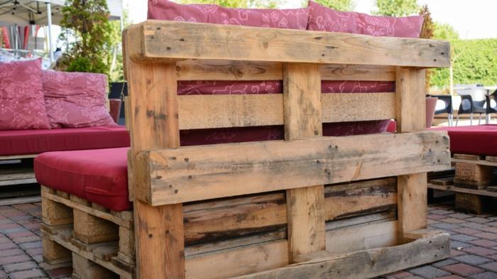 Banc palette : inspirations originales pour fabriquer un meuble ...