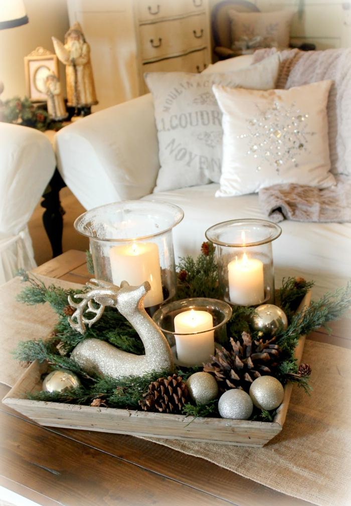 bougies pour votre décoration de Noël