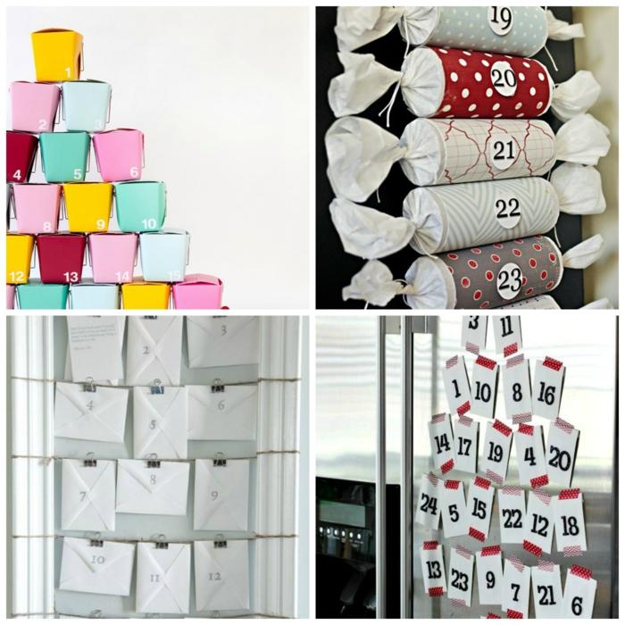 12 propositions pour un calendrier de l avent a fabriquer - Decos de noel a fabriquer ...