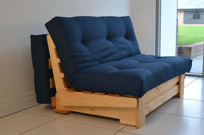 canapé avec matelas japonais lit futon
