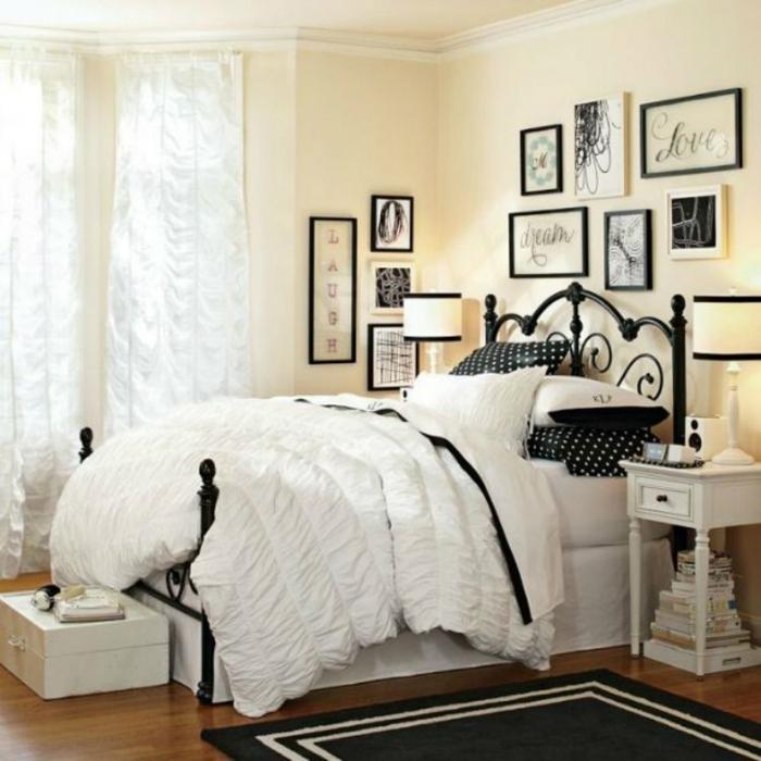 chambre à coucher pour une fille ado