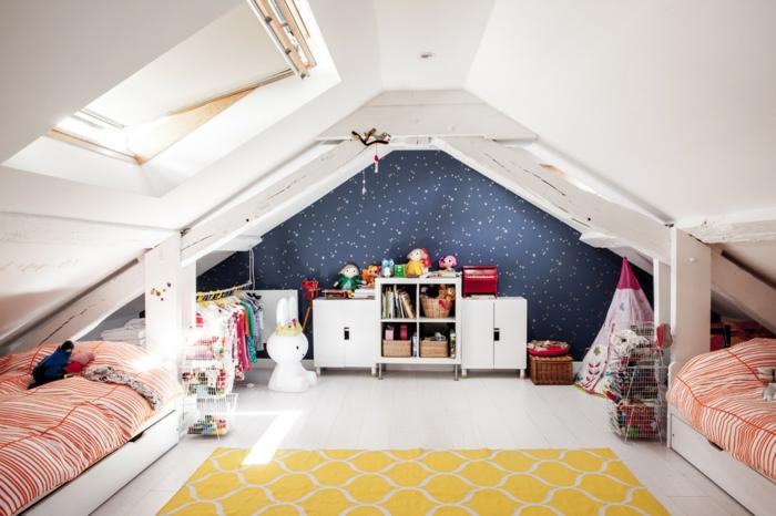 chambre d'enfant dans les combles aménagement de combles