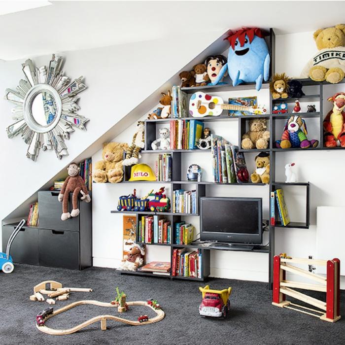 chambre enfant aménagement de combles idée