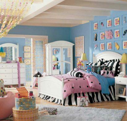 Chambre fille ado 30 id es de design magnifique - Decoration chambre pour fille ado ...