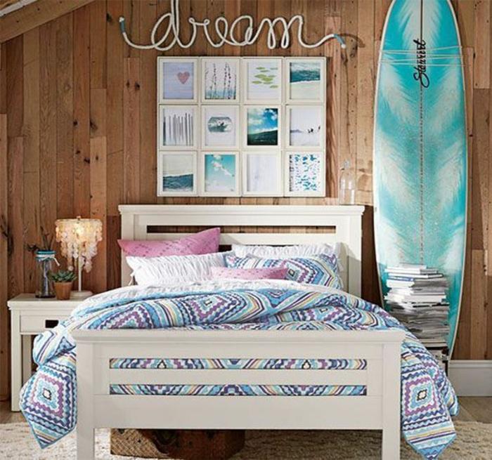 chambre fille ado thème bord de mer