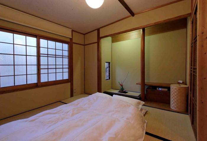 Lit futon - pour une chambre à coucher de style japonais