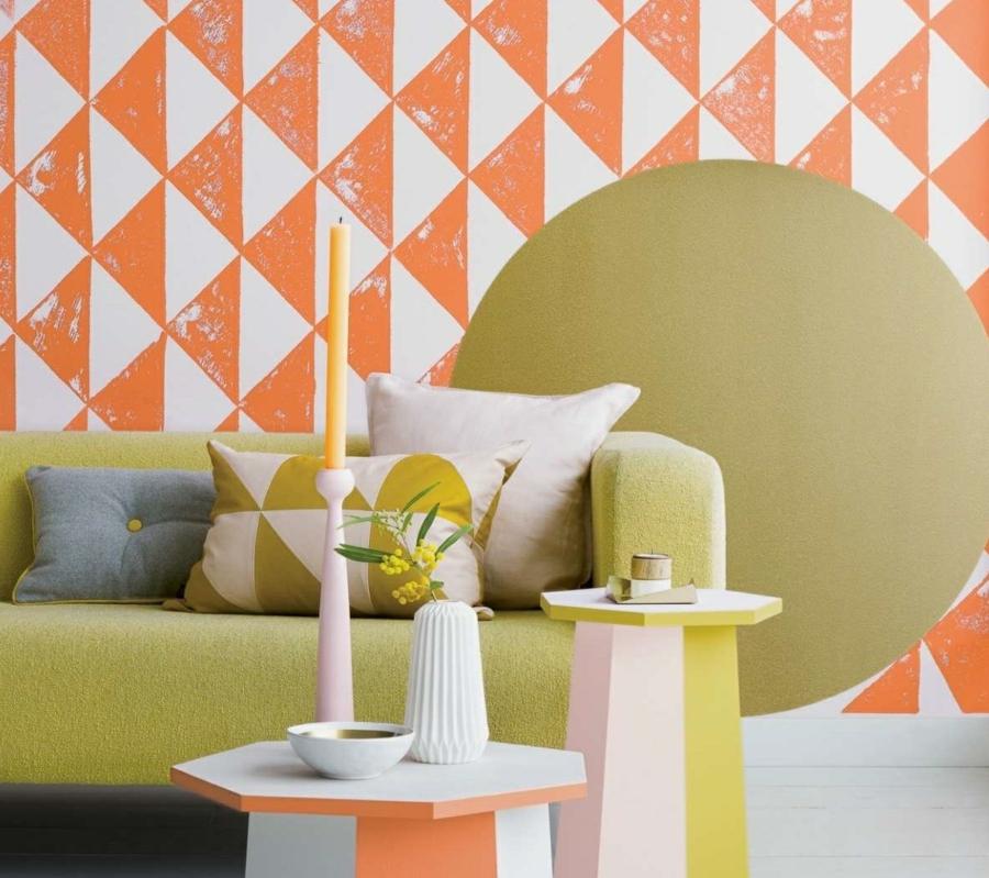 Papier peint scandinave 30 id es pour un int rieur tendance - Papier peint tendance chambre ...